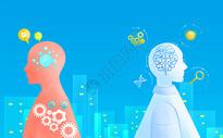 机器人工智能科技图片