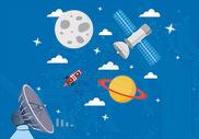 科技太空背景图片