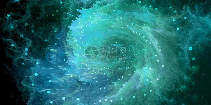漩涡星空宇宙海洋图片