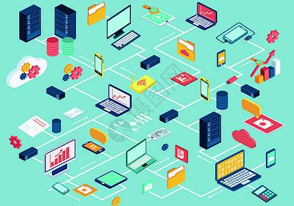 商务科技链接图片