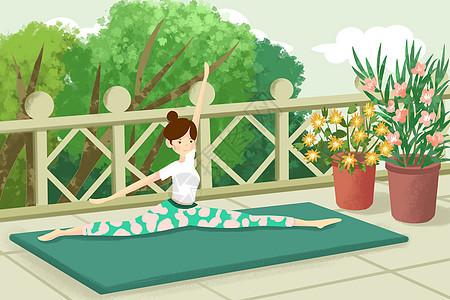 瑜伽运动健身图片