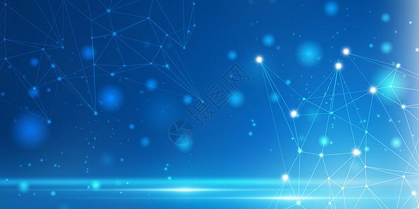 抽象蓝色科技背景图片