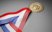 奖牌背景图片