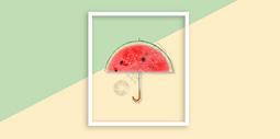 彩色水果背景图片