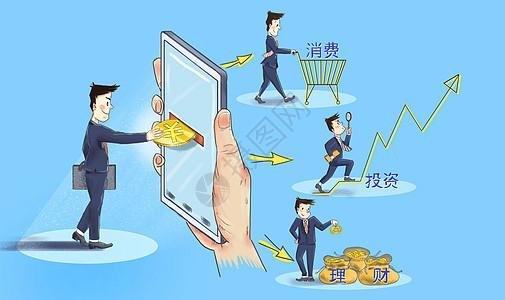 互联网投资理财图片
