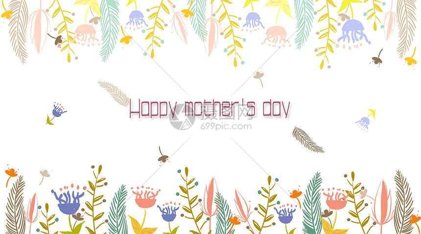 母亲节绘画作品图片
