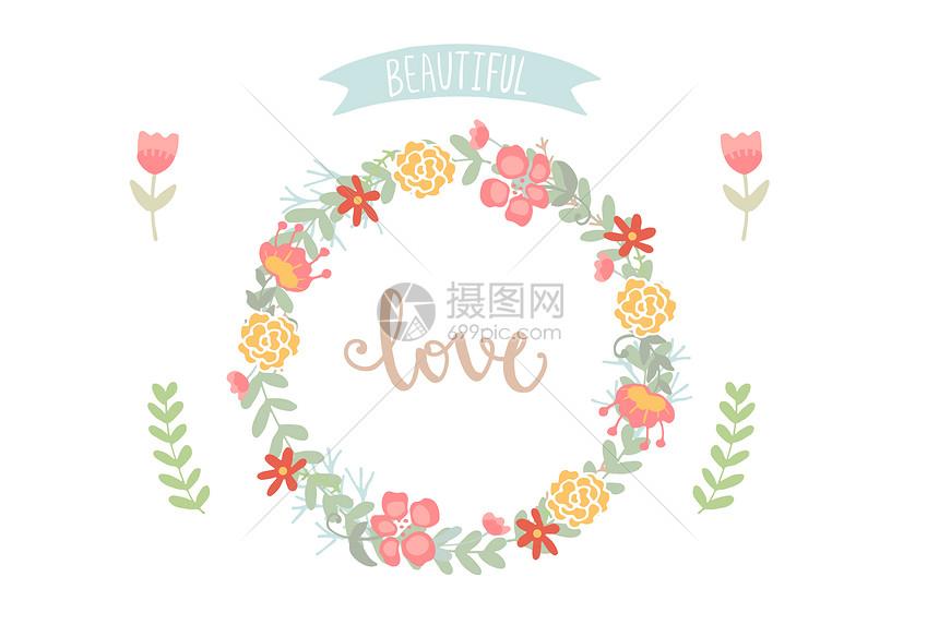花朵小清新图片