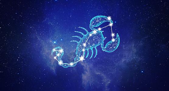 十二星座天蝎座图片