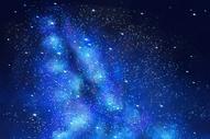 银河插画图片
