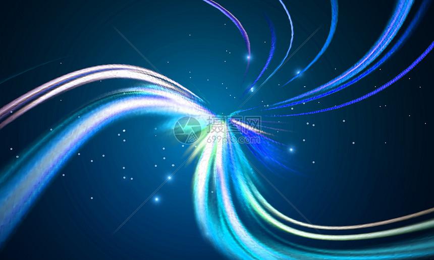 科技线路背景图片