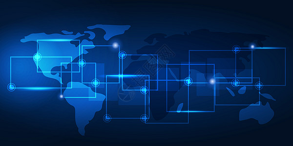 世界通讯全球化图片