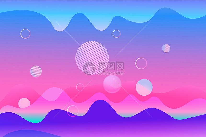 流体背景设计图片