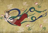 中国风敦煌壁画图片
