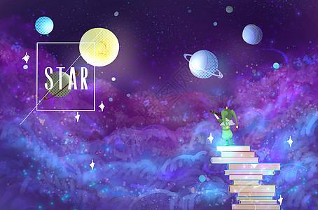 星语星愿-夏夜幻想图片