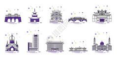 中国地标建筑图片