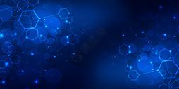 几何科技互联网背景图片