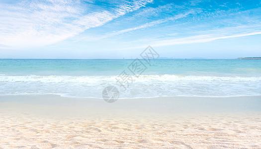 夏季沙滩图片