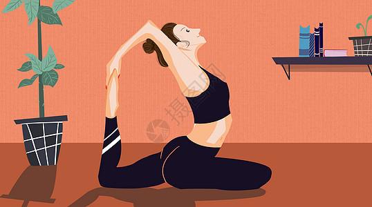 做瑜伽的美女�D片