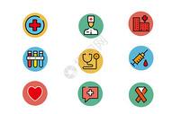 医疗元素图标图片