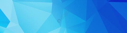 蓝色商务几何背景图片
