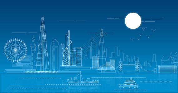 城市科技建筑风光图片