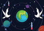 世界地球日图片
