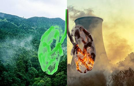 空气净化创意图片图片