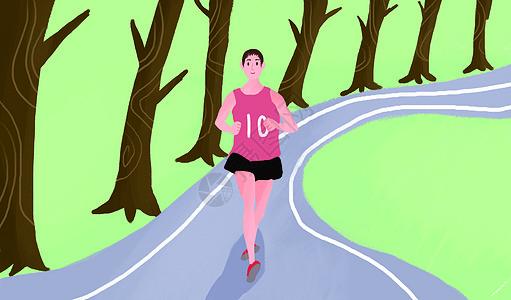 跑马拉松图片