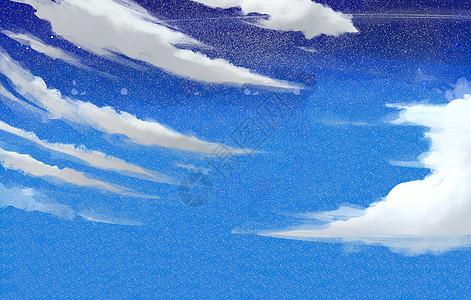 夜空下的云图片