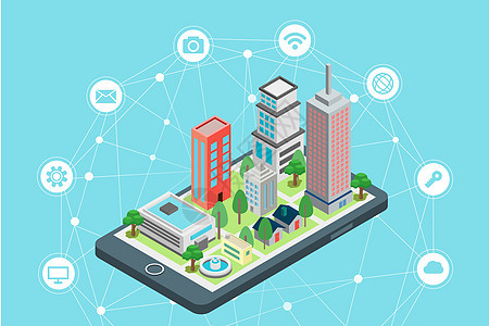 立体智慧城市图片