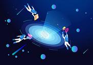 科技宇宙商务办公图片