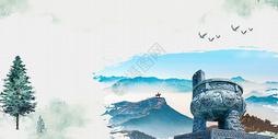 诚信中国风背景图片