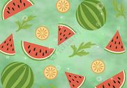 水果元素背景图片