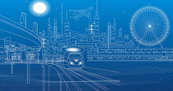 科技城市场景图片