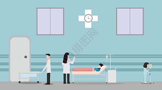 医疗矢量插画图片