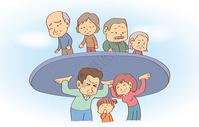 人口老龄化的压力图片