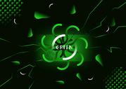 绿色炫酷科技背景图片