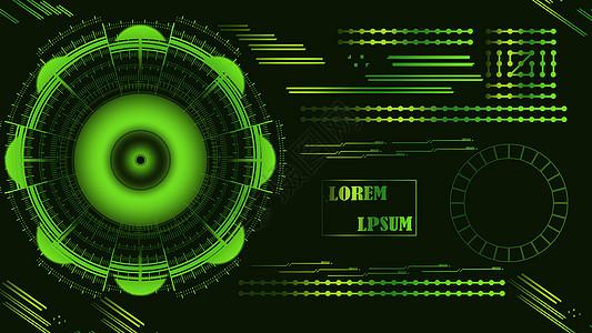 绿色科技背景素材图片