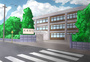 学校风景图片