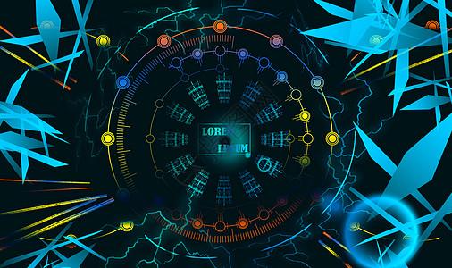 科幻科技背景图片