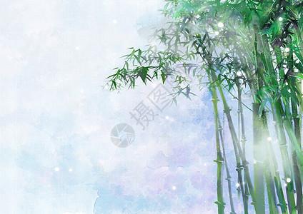 唯美手绘古装仙女_古风唯美竹林草屋插画图片下载-正版图片400104520-摄图网
