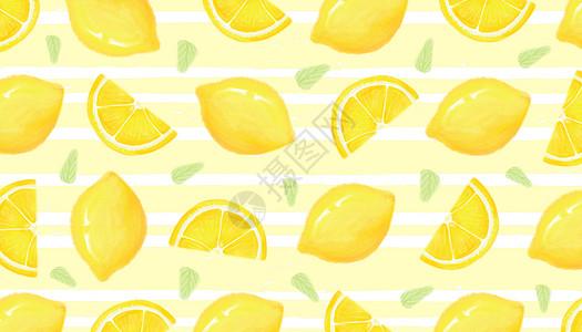 清新柠檬高清图片