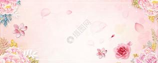 唯美花朵背景图片