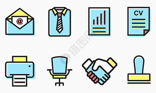 办公工具图标图片