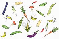 蔬菜背景图片