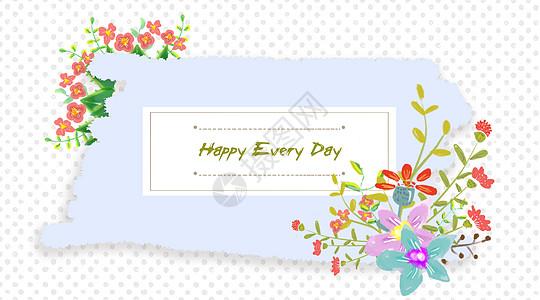 手绘花卉素材图片