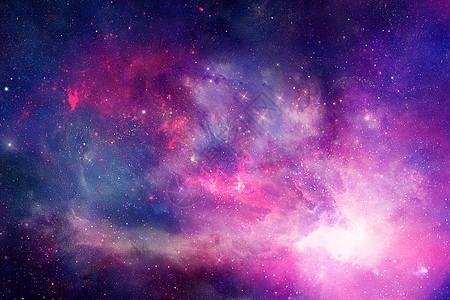 渐变星空图片