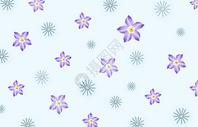 小清新花卉背景图片