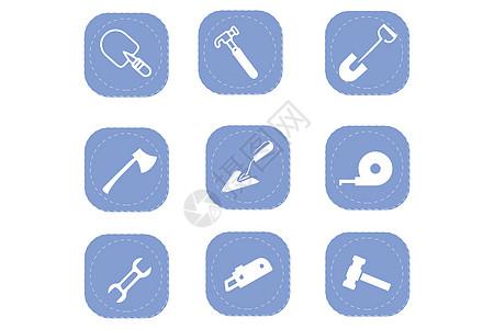 建筑工具图标图片