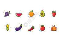 蔬果MBE图标图片